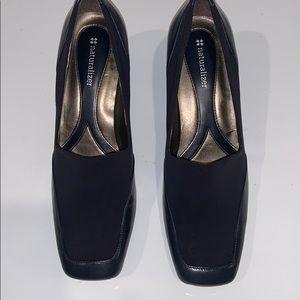 Naturalizer blue heels size 9N